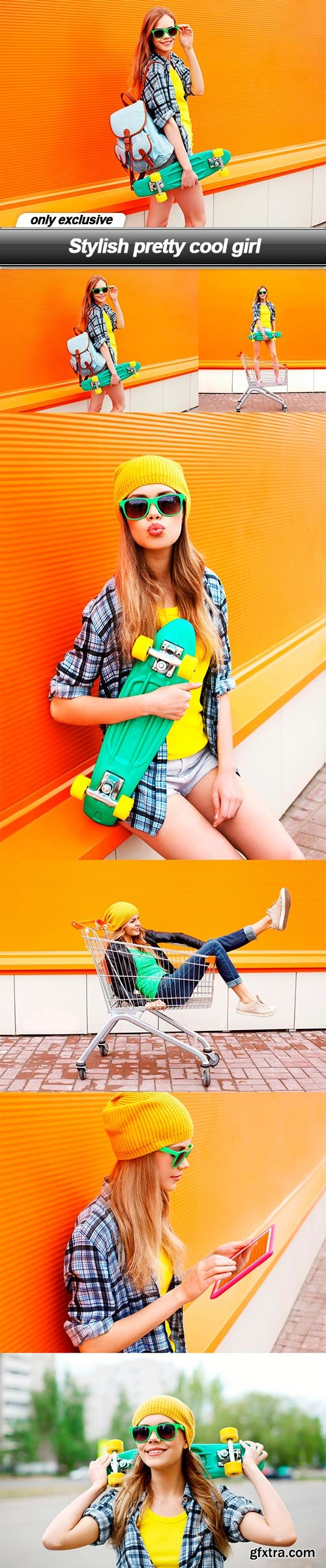 Stylish pretty cool girl - 6 UHQ JPEG