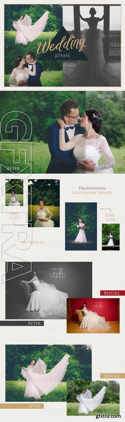 CM - Wedding Lightroom Presets 312193