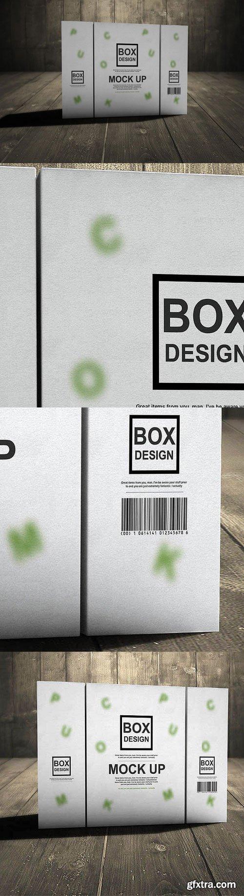 CM - 3D Product Box Mock Up 335351