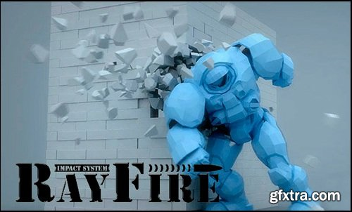RayFire 1.66 for 3ds Max 2016