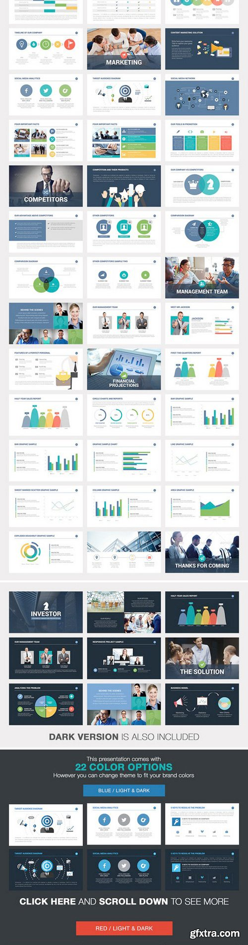 CM - Investor Pitch Deck Powerpoint 225853