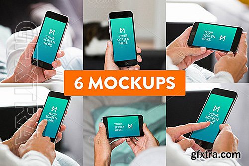 CM - 6-Pack iPhone 6 Mockups 335325