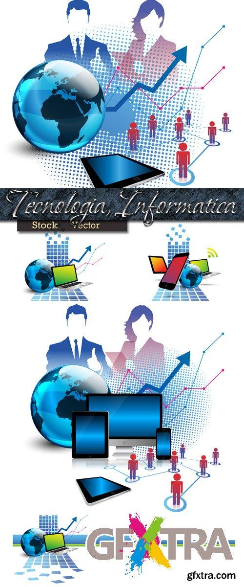 Informatics and computer technologies in Vector