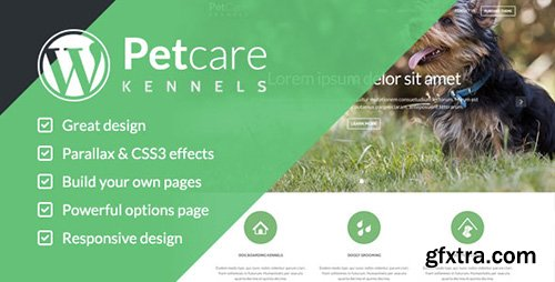 ThemeForest - Pet Care v1.2 - Dog Kennels Wordpress Themes - 8001940