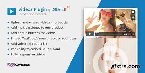 CodeCanyon - Videos Plugin for WooCommerce v1.5 - 11425598