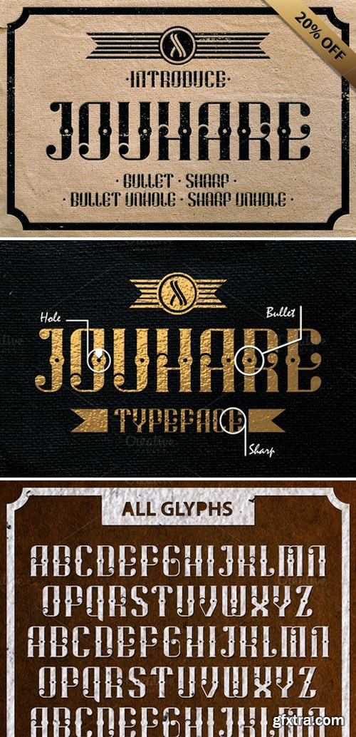 CM - Jouhare Typeface 334078