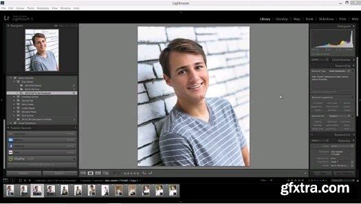 Senior Portrait Workflow for Lightroom