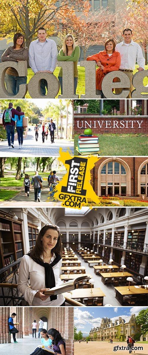 Stock Images College campus