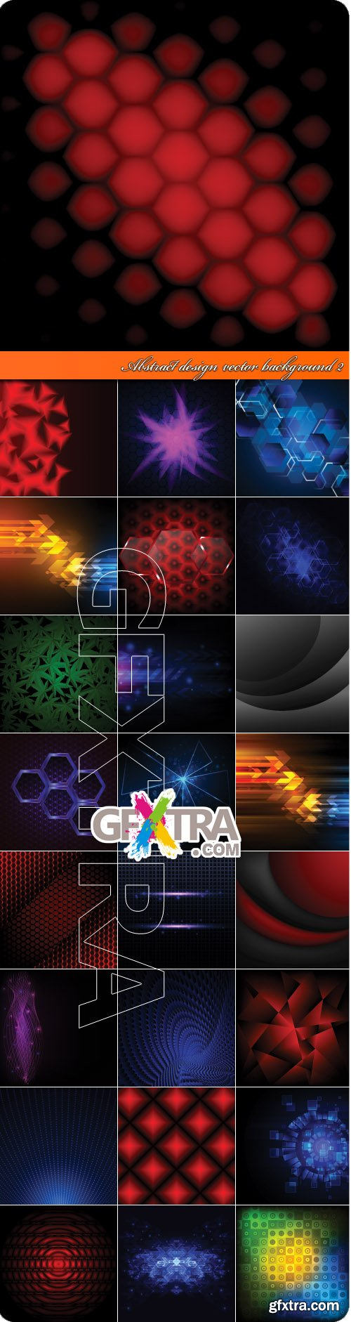 Abstract design vector background 2