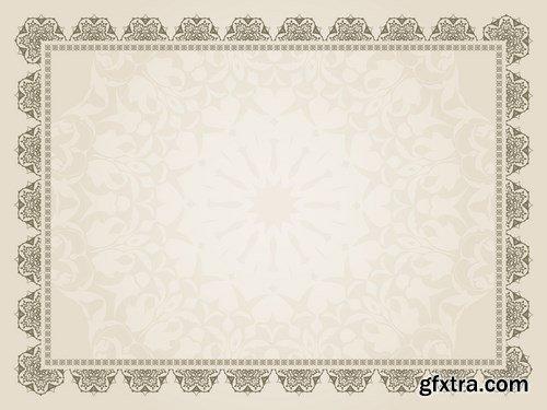 Decorative background - 8 EPS