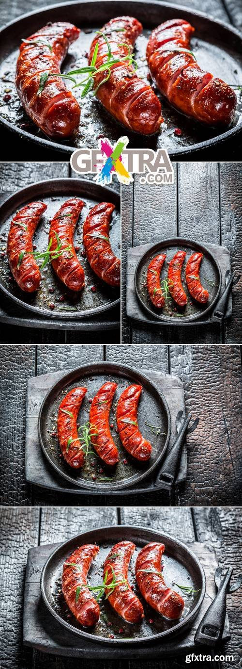 Stock Photo - Grilled Meat 3