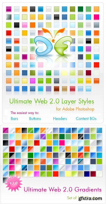 Ultimate Web 2.0 Gradients & Layer Styles