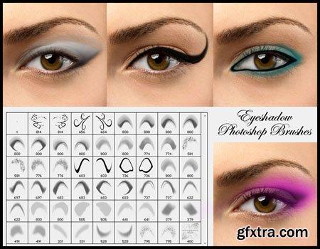 Eyeshadow Brushes for Photoshop