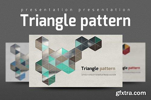 CreativeMarket Triangle Pattern 333752