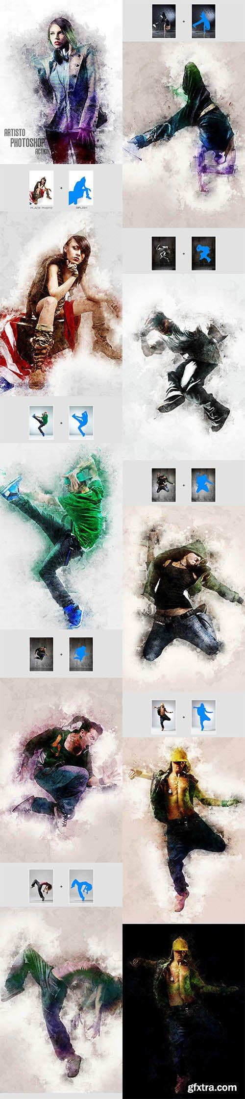 Graphicriver  Artisto - Photoshop Action 12390526