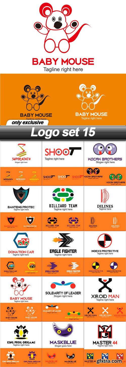 Logo set 15 - 15 EPS
