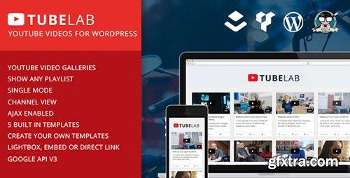 CodeCanyon - Tubelab v1.0.1 - YouTube plugin for WordPress - 11893018