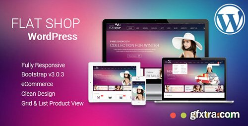 ThemeForest - The Flat Shop v1.0 - WordPress WooCommerce Theme - 11500887