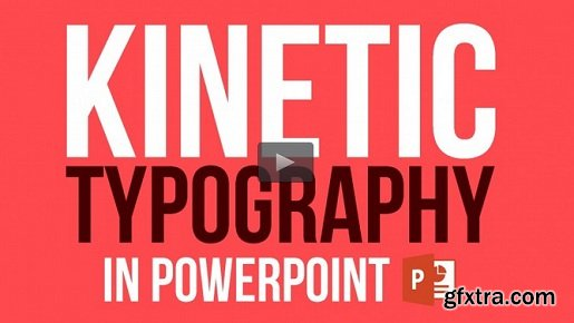 Kinetic Typography in Powerpoint: Make an Animation Video