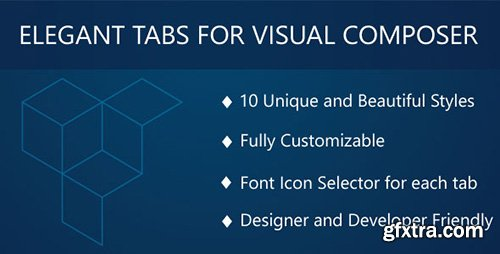 CodeCanyon - Elegant Tabs for Visual Composer v1.1.1 - 9598846