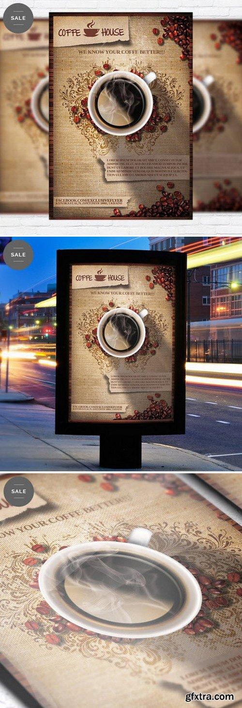 Coffee Shop Vol.2 – Business Flyer Psd Template