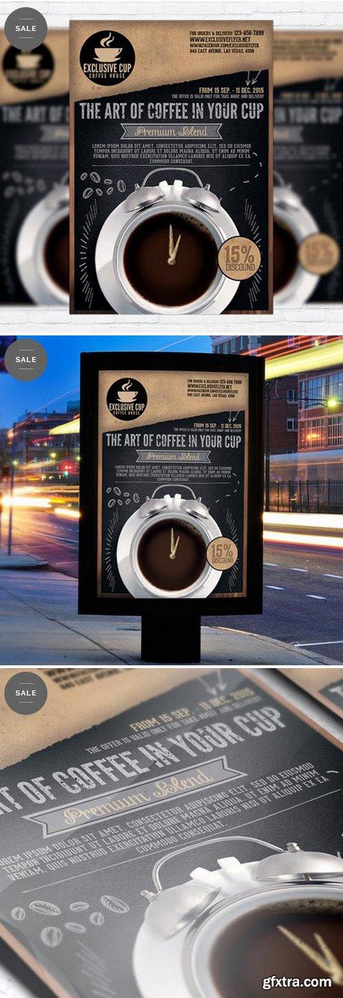 Coffee Shop – Business Flyer Psd Template
