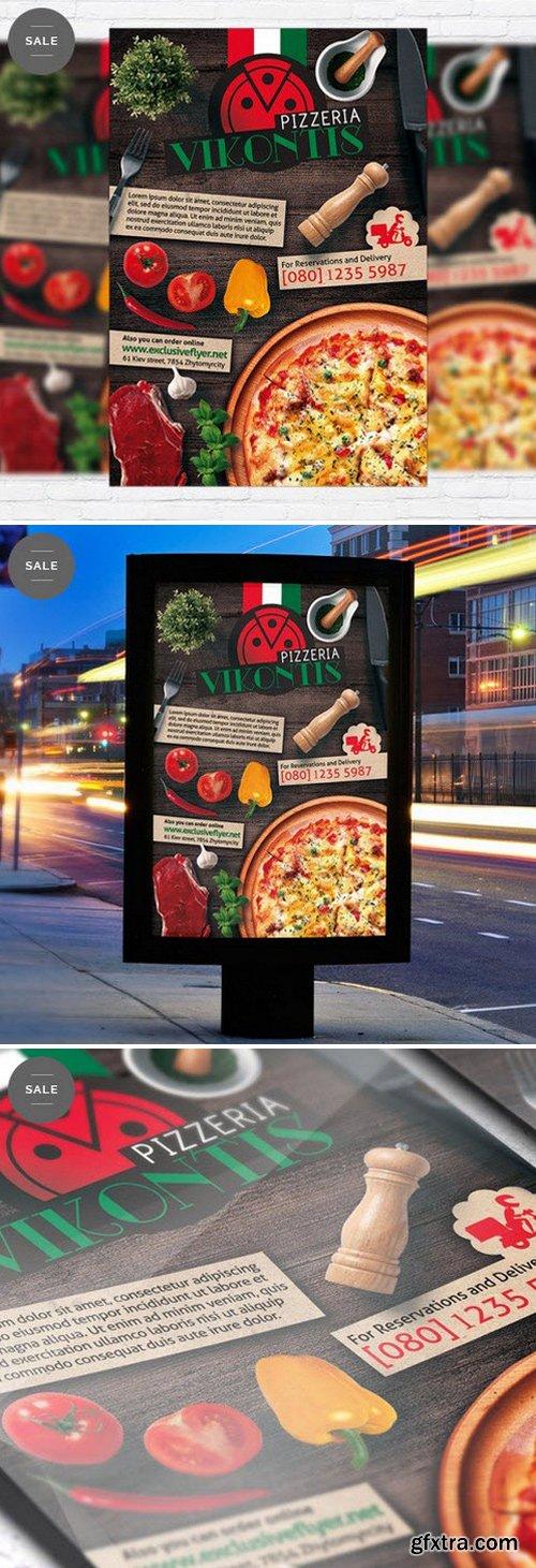 Pizzeria Italian Flyer Template