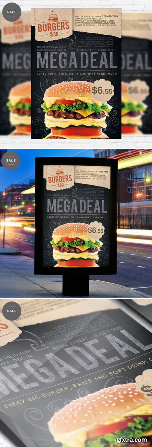 Food Promotion – Business Flyer Psd Template