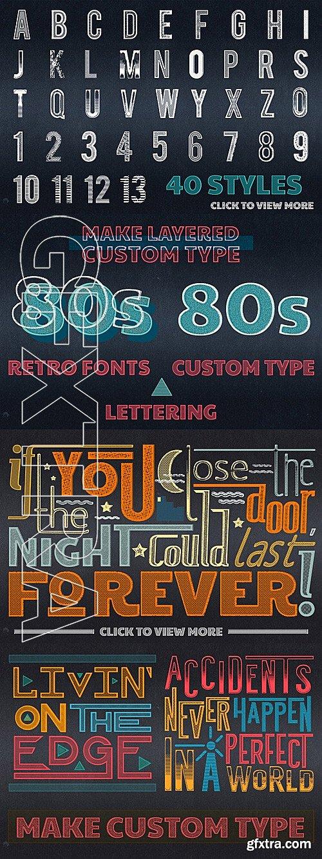 CM - 80s PRESS for Adobe Illustrator 338442