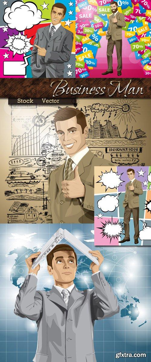 Business man in Vector