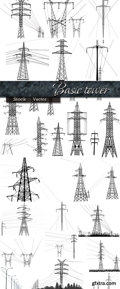 Basic tower in Vector