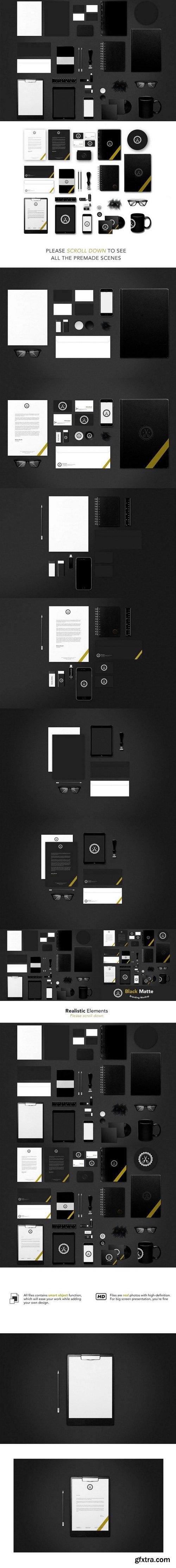 CM - Corporate Identity Design Mockup 262687