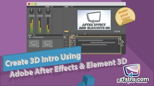 Create 3D Intro Using Adobe After Effects & Element 3D