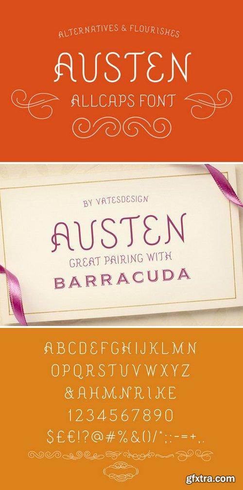 CM - Austen Display Font 338717