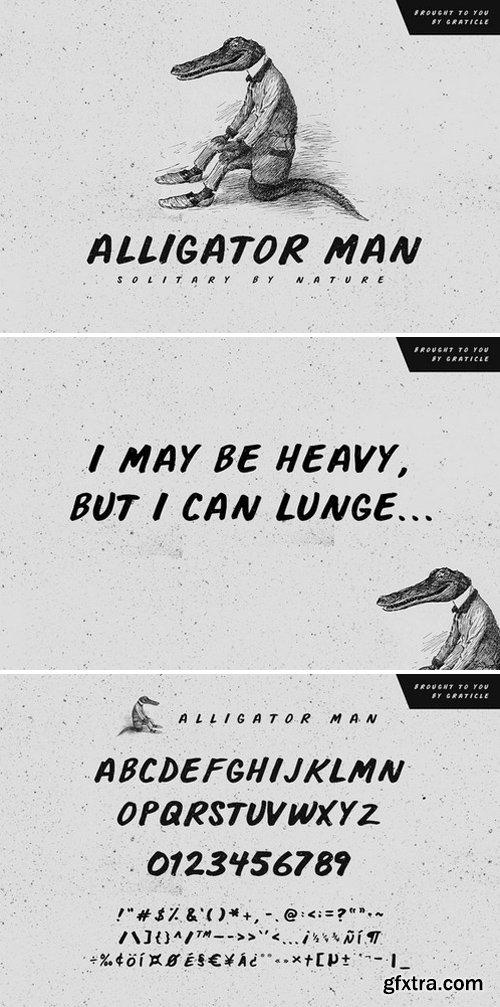 CM - Alligator Man 333418