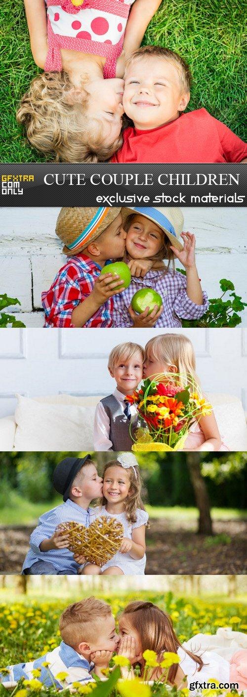 Cute Couple Children