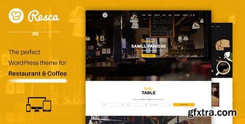 ThemeForest - WordPress Restaurant & Cafe Theme - Resca v1.0 - 12124219