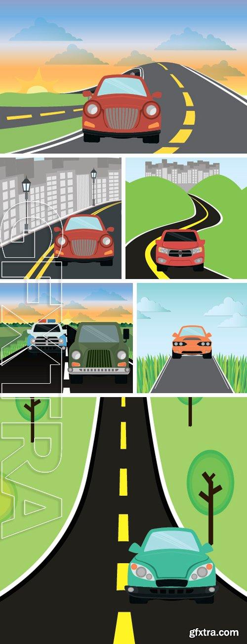 Stock Vectors - Car digital design, vector illustration graphic