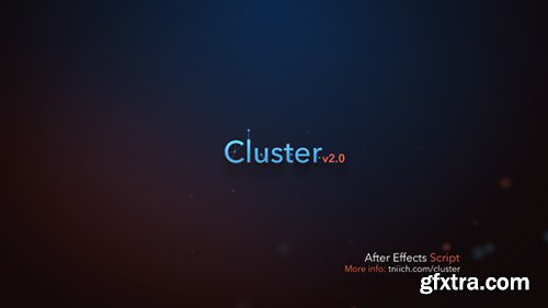 Videohive Cluster v2 0 9205447 » GFxtra