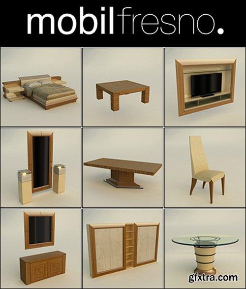3D Models Collection Mobilfresno.