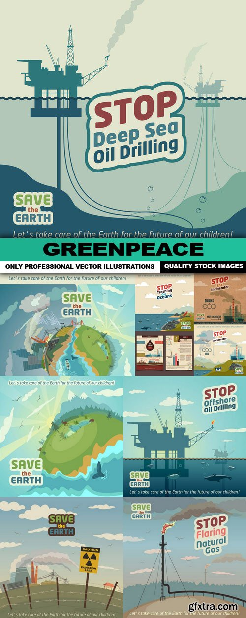 Greenpeace - 10 Vector