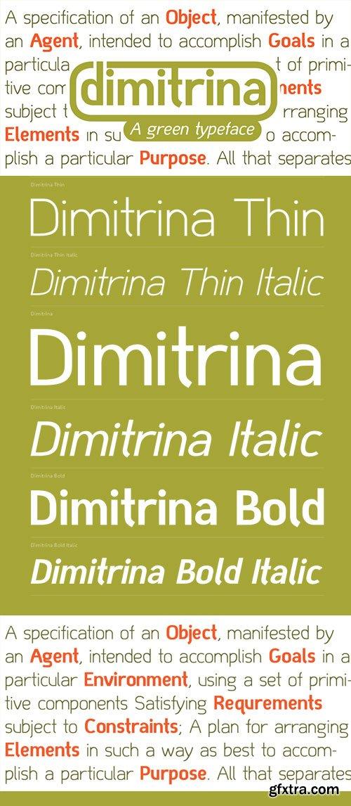 Dimitrina - Minimum of Sharp Angles 6xOTF $150