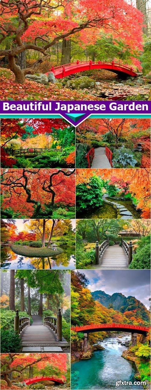 Beautiful Japanese Garden 9X JPEG