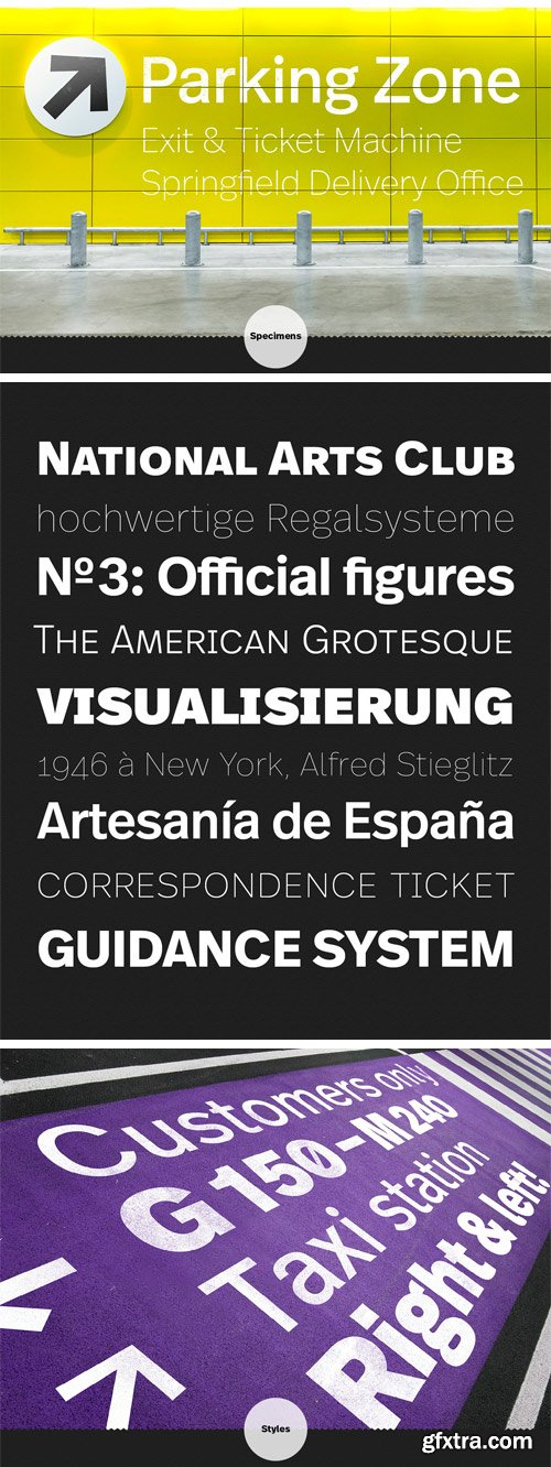 FF Real Font Family