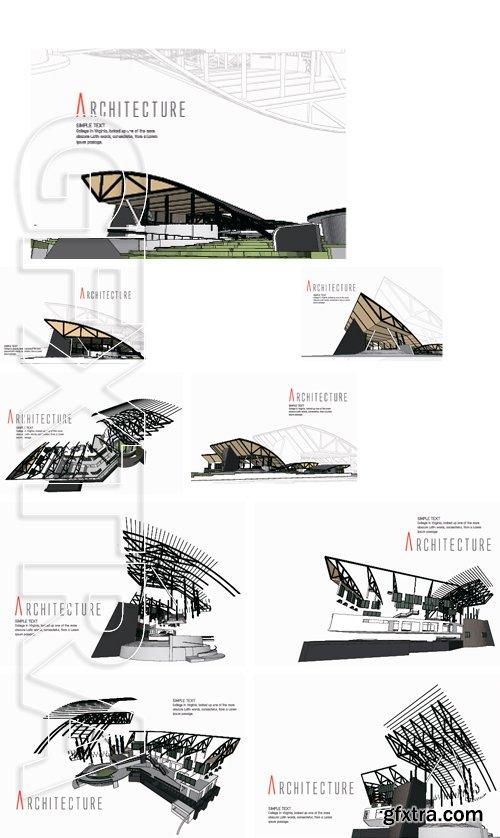 Stock Vectors - Architecture Background