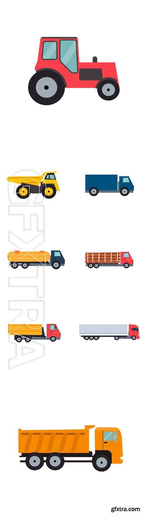 Stock Vectors - Flat Truck Vector Illustration