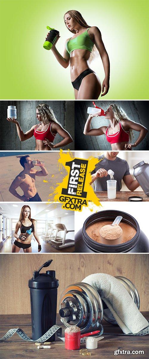 Stock Photos Sports proteine