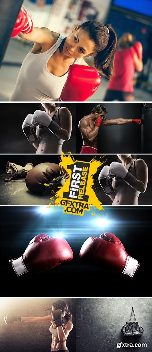 Stock Images Boxing