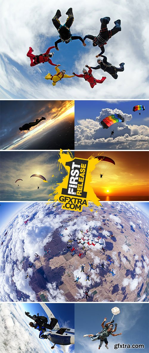 Stock Photos Skydiving