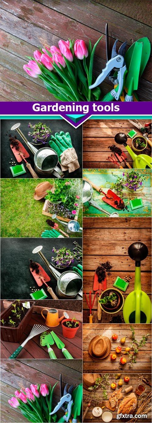 Gardening tools 10X JPEG